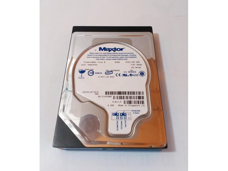 Hard disk Maxtor 30gb ata 100% health