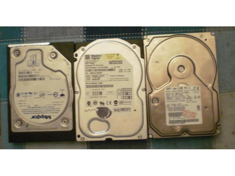 Hard diskovi netestirani