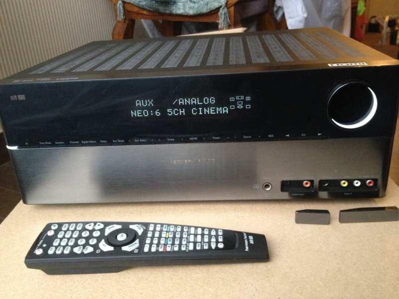 Harman/Kardon  -AVR 155, HDMI x4