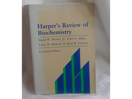Harper s Review of Biochemistry Harperova biohemija