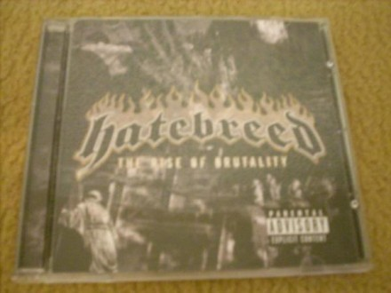 Hatebreed-The Rise Of Brutality CD