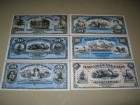Hawaii 1895 LOT Dolara (Plava serija) REPLIKA UNC