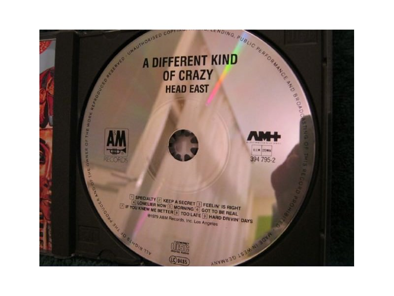 Head East -  A DIFFERENT KIND OF CRAZY