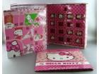 Hello kitty-NIKIFORIJA-Kutija+sve slicice+figurice
