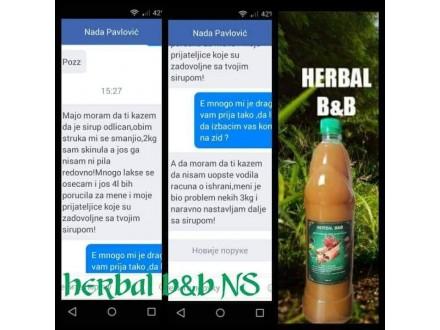 Herbal B&B sirup za detoksikaciju