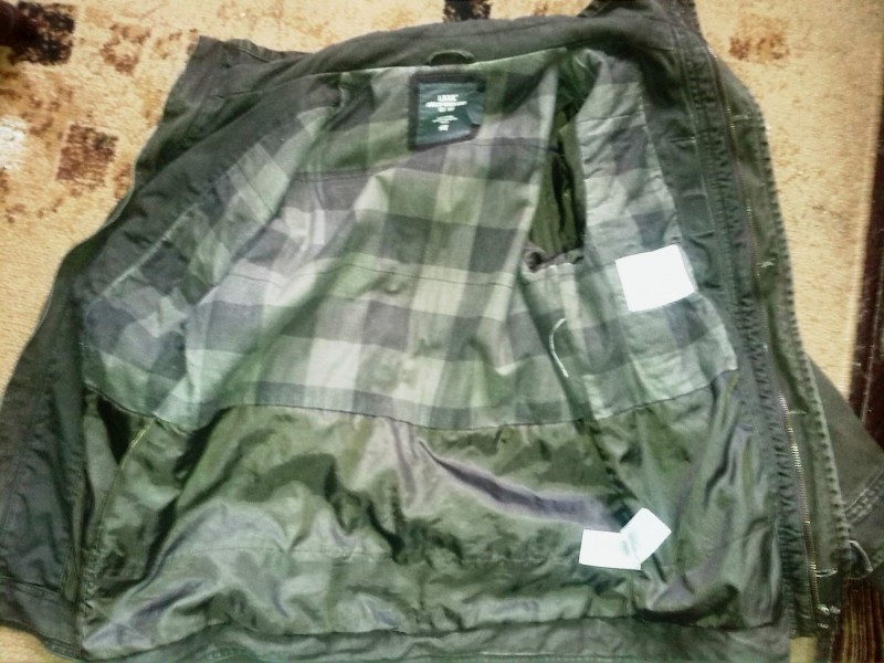 H&M Jakna,Military stil i boja