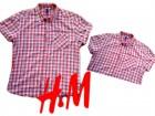 H&M kao nova ili nova košulja. Pamuk. L