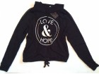 H&M xLOVE & HOPEx crno beli duks Nov