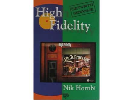 High fidelity  Nik Hornbi