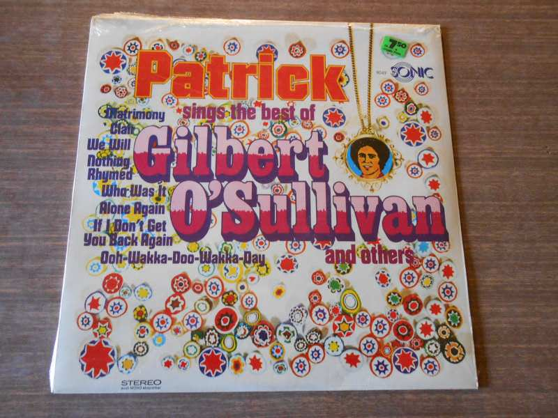 Hiltonaires, The - Patrick Sings The Best Of Gilbert O`Sullivan And Others