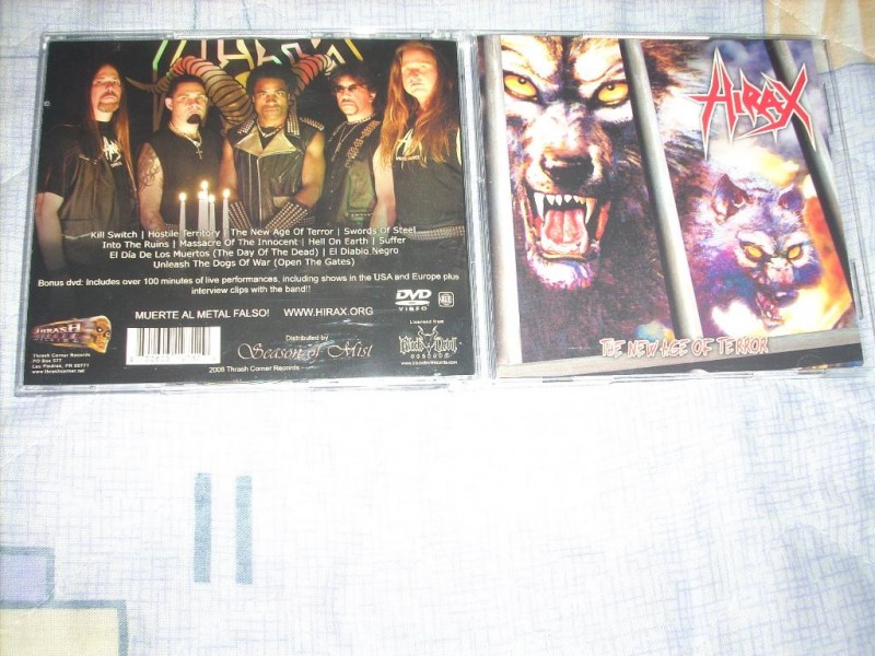Hirax - The New Age Of Terror CD+DVD
