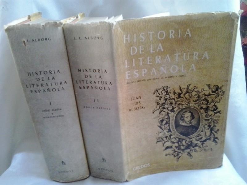 Historia de la literatura Espanola I, II i IV Juan Luis