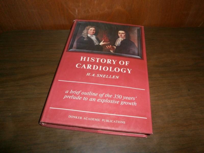 History of cardiology - H.A. Snellen (na engleskom)