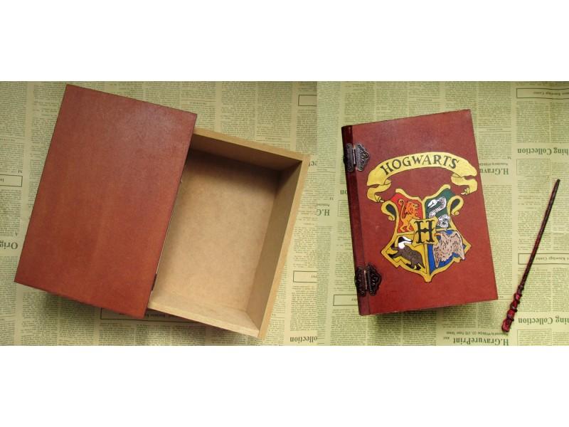 Hogwarts kutija u formi knjige,  nakit ...
