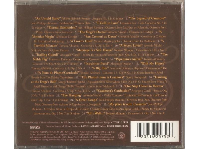 Hollywood Studio Symphony, The - Casanova - Original Soundtrack