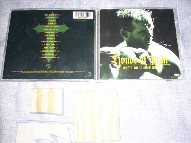 House Of Pain - Same As It Ever Was CD