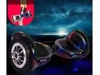 Hoverboard sa ruckom- Elektricni Skuter 10` Crni sa gro