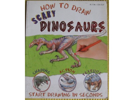 How to draw scary Dinosaurs  Miles Kelly