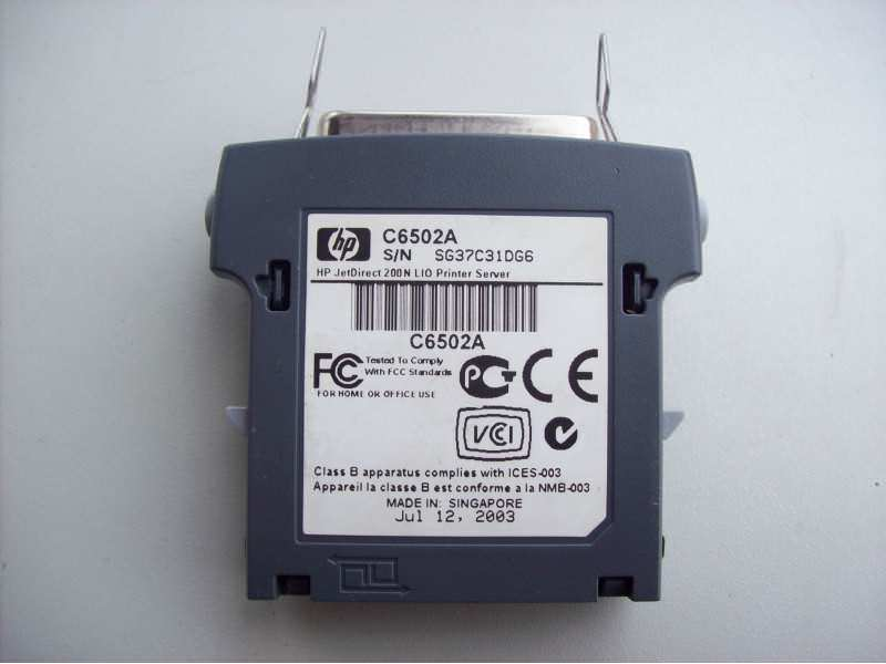 Hp adapter -konektor