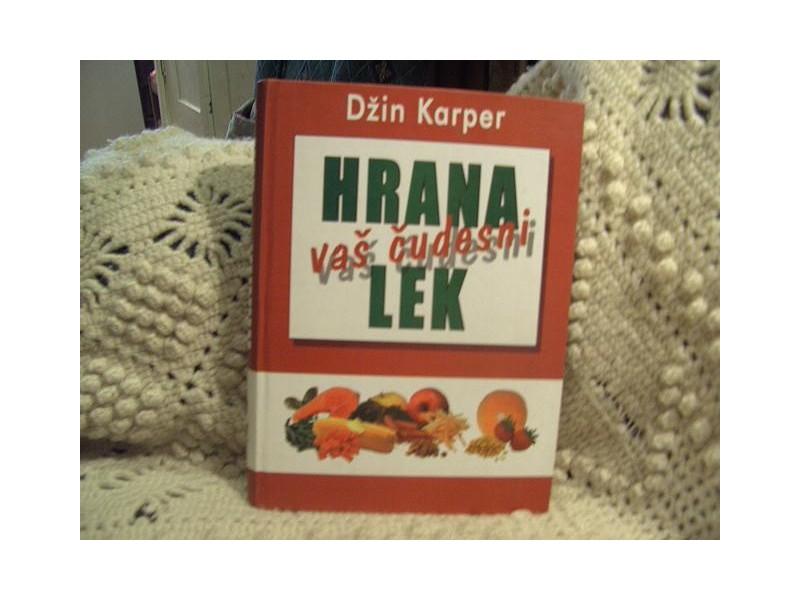Hrana  Vas cudesni lek, Dzin Karper,enciklopedija