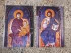 Hristos Svedržitelj i Bogorodica (2 ikone)