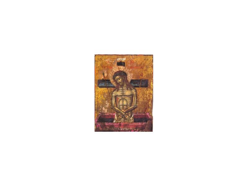Hristos u grobu (Meteori)