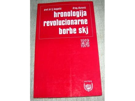 Hronologija revolucionarne borbe SKJ 1919-1979.
