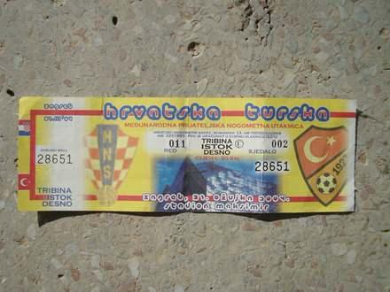 Hrvatska - Turska,  prijateljska, Zagreb, 2004