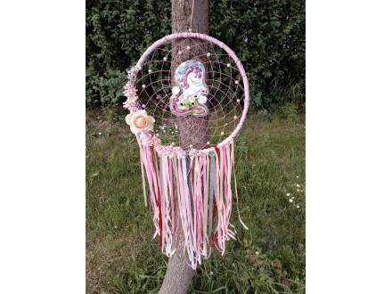 Hvatac - jednorog - dream catcher - hvatac snova