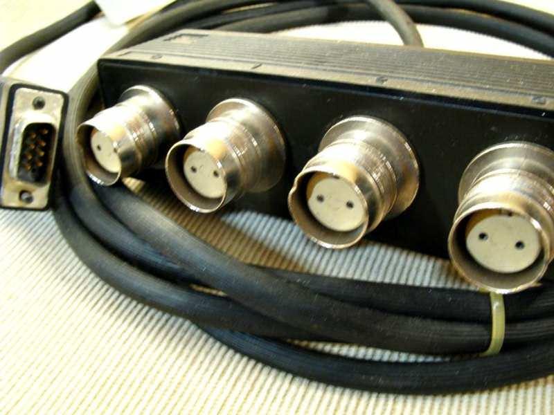 IBM 4-Port Twinax Cable P/N 72X5645
