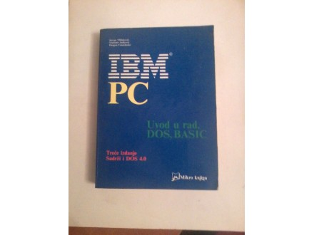 IBM PC, uvod u rad,DOS,BASIC