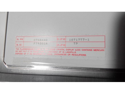 IBM T22 Ekran - Displej