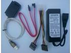 IDE SATA na USB 2.0 adapter + napajanje Novo