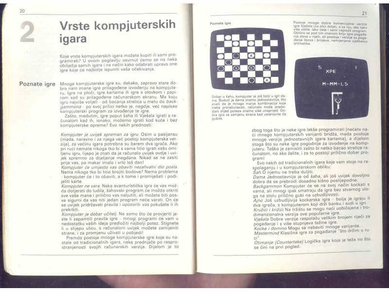 IGRE, GRAFIKA I ZVUK - RACUNARI 1986 GOD