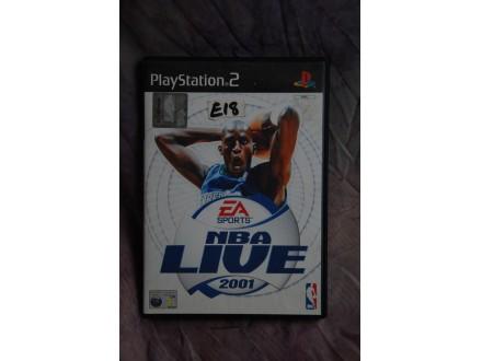 IGRICA ZA PLAY STATION 2 - NBA LIVE 2001