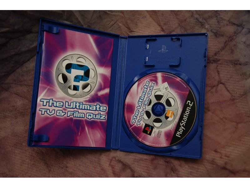 IGRICA ZA PLAY STATION 2 - THE ULTIMATE TV&FILM QUIZ
