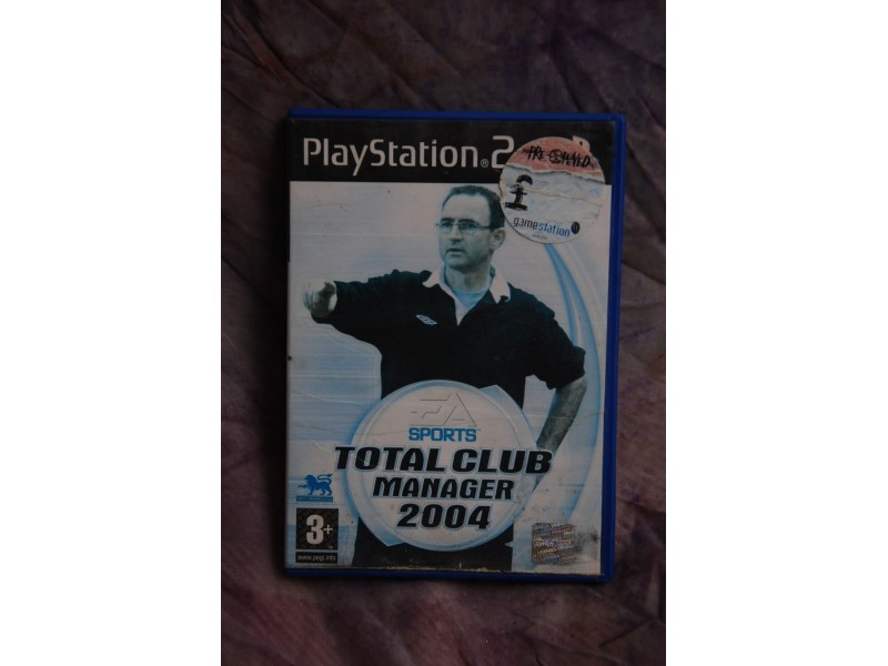 IGRICA ZA PLAY STATION 2 - TOTAL CLUB MANAGER 2004