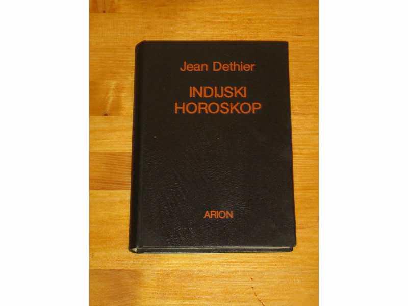 INDIJSKI HOROSKOP - Jean Dethier