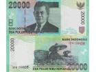 INDONESIA 20.000 Rupiah 2014 UNC P-151 (fc)