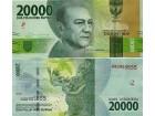INDONESIA Indonezia 20.000 Rupiah 2016/2017 UNC, P-new