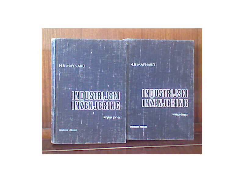INDUSTRIJSKI INŽENJERING I i II - H.B. Maynard