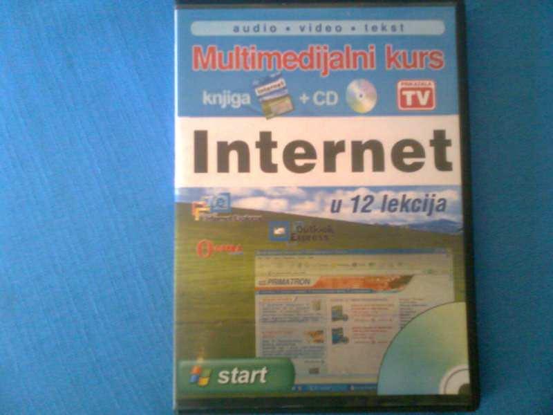 INTERNET U 12 LEKCIJA SA CD