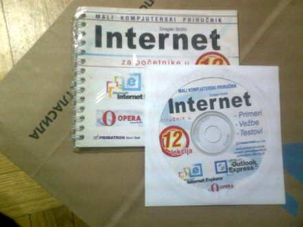 INTERNET ZA POČETNIKE SA CD