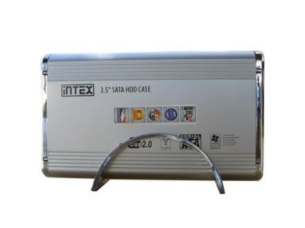 INTEX IT-350SA 3.5` IDE+SATA srebrni hard disk rack