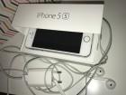 IPhone 5s 16GB silver sim free + 4 maske