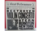 ISAAC STERN/LEONARD BERNSTEIN CONDUCTS,Violin Conc.-LP