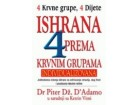 ISHRANA PREMA KRVNIM GRUPAMA - Piter D`Adamo, Ketrin Vitni