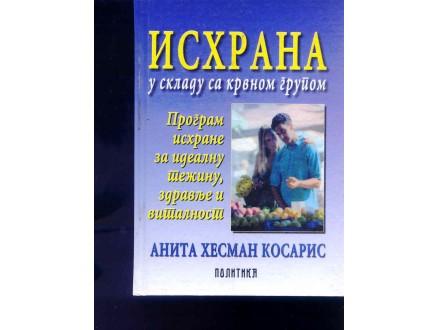 ISHRANA U SKLADU SA KRVNOM GRUPOM - A.H. KOSARIS