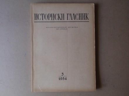 ISTORIJSKI GLASNIK 3 / 1954