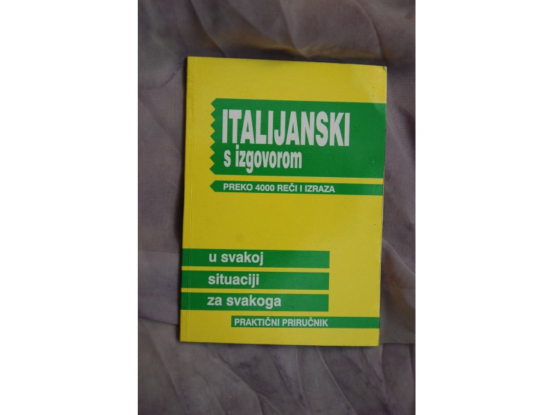 ITALIJANSKI S IZGOVOROM